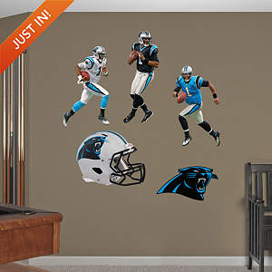 Cam Newton Hero Pack Fathead Wall Decal